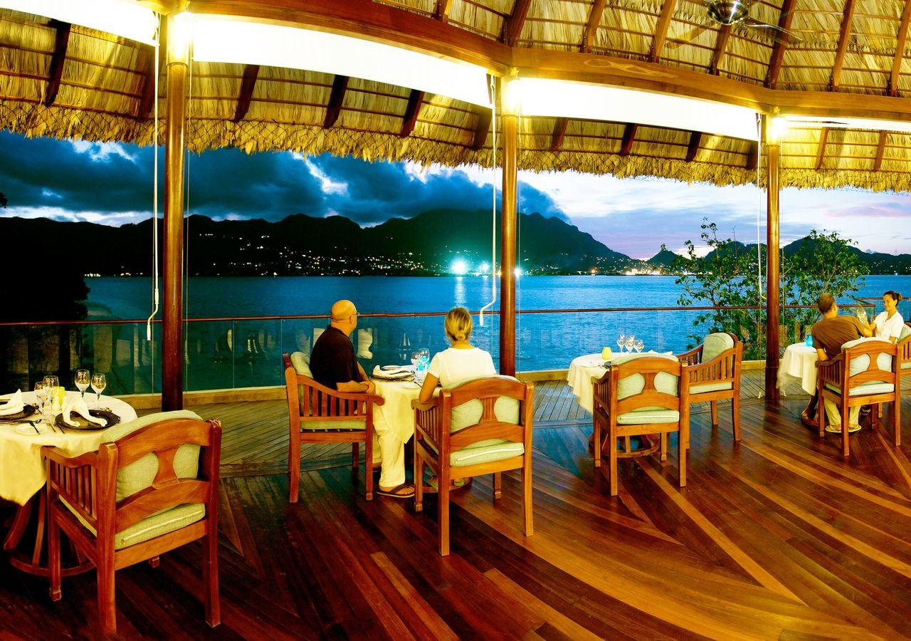 Restaurant Price List Cerf Island Resort